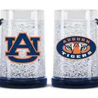 Auburn Tigers Crystal Freezer Mug