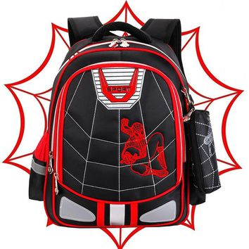 children school bags orthopedic schoolbag kids backpacks Spiderman school backpack Boys&Girls Primary school backpack sac enfant