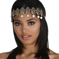 Sale-gold Crown Me Boho Headpiece