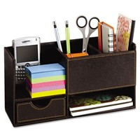 Safco Leather Look Desktop Supply... | Discount Office Items
