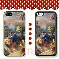 Beauty and the beast, iPhone 5 case iPhone 5c case iPhone 5s case iPhone 4 case iPhone 4s case, Samsung Galaxy S3 \S4 Case --X50951