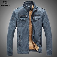 Leather Sheepskin Motorcycle Jacket