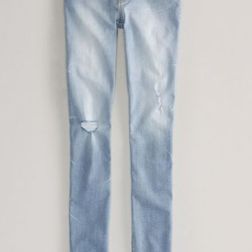AEO 's Jegging (Light Destroy Wash)