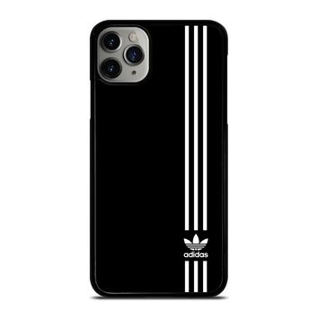 SUPERB ADIDAS LOGO BLACK iPhone Case Cover