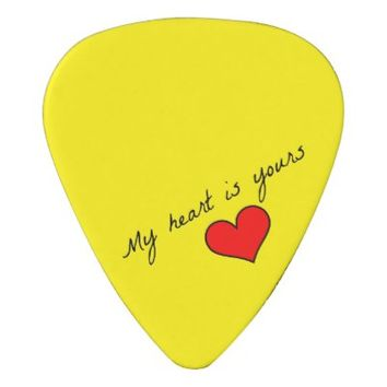 My Heart is Yours Guitar Picks Pick