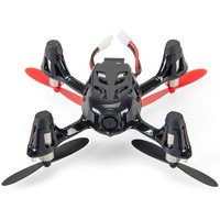 Hubsan X4 (H107C) 4 Channel 2.4GHz RC Quad Copter with Camera - Red/Black, Red/Black