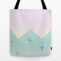 Spring Dawn Tote Bag by Cuttlefishlove