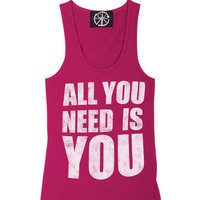 All You Need Is You Tank
