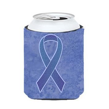 Periwinkle Blue Ribbon for Esophageal and Stomach Cancer Awareness Can or Bottle Hugger AN1208CC