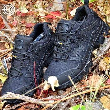 Men Army Tactical Boots Special Force Low Combat Military Boots Men Desert Safety Work Shoes