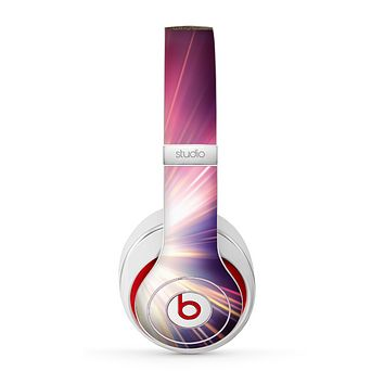 The Pink Rays of Light Skin for the Beats by Dre Studio (2013+ Version) Headphones