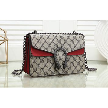 GUCCI Hot Selling Fashion Coloured Manyin Lady's Single Shoulder Bag N-MYJSY-BB