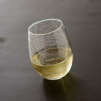 Paris Map Stemless Wine Glass