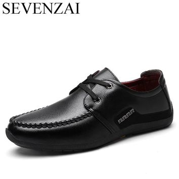 men shoes italian leisure moccasins luxury brand footwear male fashion loafer ballet flats fashion office oxford  shoes for men