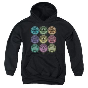 Sun - Rocking Color Block Youth Pull Over Hoodie