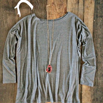 Piko Top - Gray