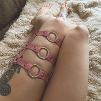Pink Triple Thigh Brace
