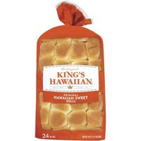 King's Hawaiian The Original Hawaiian Sweet Rolls, 24 oz, 24ct - Walmart.com