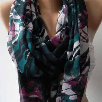 IInfinity Scarf Loop Scarf Circle Scarf - Elegant - It made with good quality chiffon fabric....Super Loop
