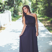 Convertible Dress in Black