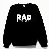 Black RAD Sweatshirt