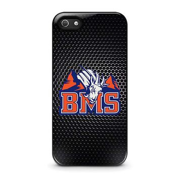 bms blue mountain state iphone 5 5s se case cover  number 1