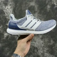 Adidas Ultra Boost4.0 white/blue Size:36-45
