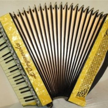 Hohner L ' Organola 120 Bass. Rare Old Original German Accordion