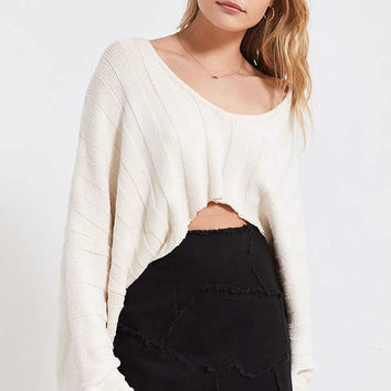 BDG Frayed Patchwork Denim Mini Skirt | Urban Outfitters