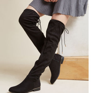 Sass to Spare Thigh High Boot