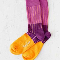 Happy Socks Ribbed Block Sock-