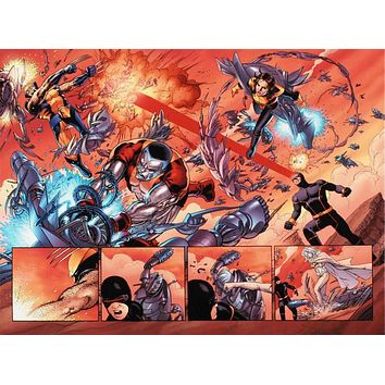 Astonishing X-Men N12 - Limited Edition Giclee on Stretched Canvas by John Cassaday and Marvel Comics