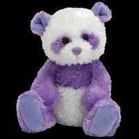 TY Beanie Baby - DANCY the Purple Panda Bear (Internet Exclusive):Amazon:Toys & Games
