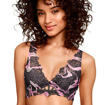 d2a0fa61ff Date Plunge Bralette - PINK - Victoria s from VS PINK
