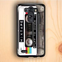 Dream colorful Old School Mixtape LG G3 Case