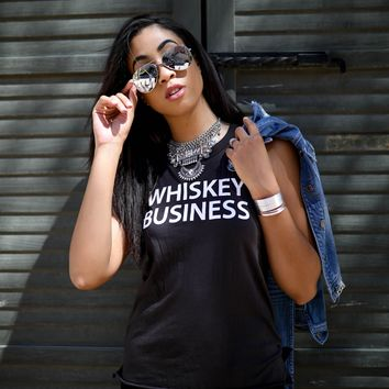 Whiskey Business Tank by Chaser Brand