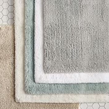 Bath Rugs, Bathroom Rugs, Bath Mats & Bathroom Mats | Pottery Barn