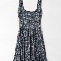 AEO Women's Printed Fit & Flare Dress