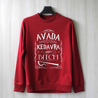 Avada Kedavra Harry Potter Shirt Sweatshirt Sweater Shirt – Size XS S M L XL