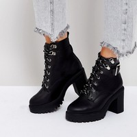 ASOS EDGE Chunky Hiker Boots at asos.com