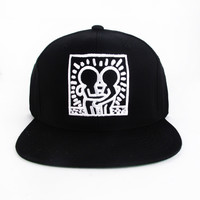 Keith Haring by House of Field HUGGING Snap Back Cap