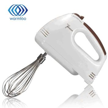 7 Speed Portable Electric Handheld Food Blender Double Whisk Eggs Mixer Batter Beater Kitchen Cake Baking Helper Cooking Tools
