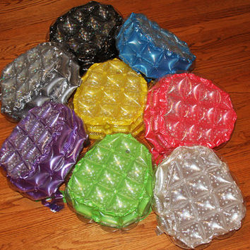90s Inflatable Glitter Glow in the Dark Bubble Backpack