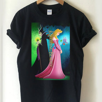 Sleeping Beauty disney movie T-shirt Men, Women, Youth and Toddler