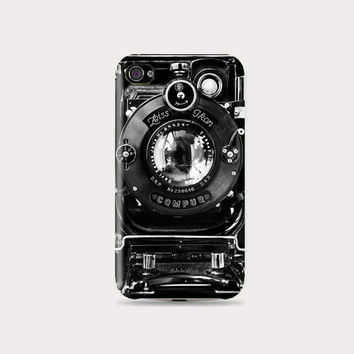Gorgeous Black & White Vintage Camera Hard Case - iphone 5 - iphone 4 - iphone 4s - Samsung S3 - Samsung S4 - Samsung Note 2