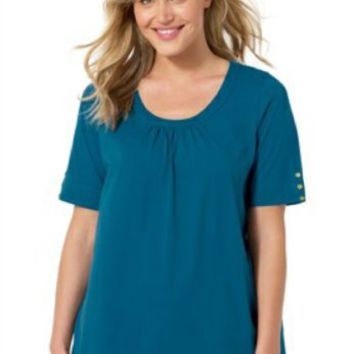 Woman Within Plus  Size 5X  38/40 Tunic Top