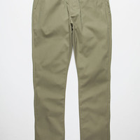 Rvca Week-End Mens Chino Pants Fatigue  In Sizes