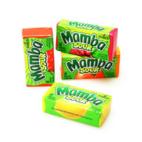 Mamba Fruit Chews Candy 6-Packs - Sour: 48-Piece Box