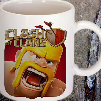 Clash of Clans for family and friends mug