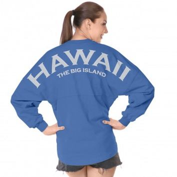 Hawaii The Big Island Spirit Football Jersey®